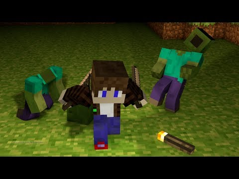 Minecraft Zombie Survival Server with Ip 1.8 /w ElementGamingHd ADDminesYou