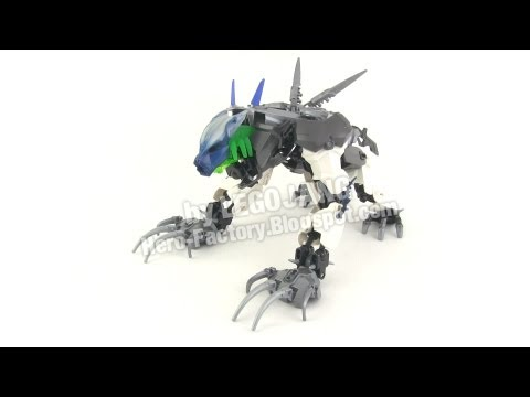 Hero Factory Brain Attack MOC: Steelwolf. with BONUS