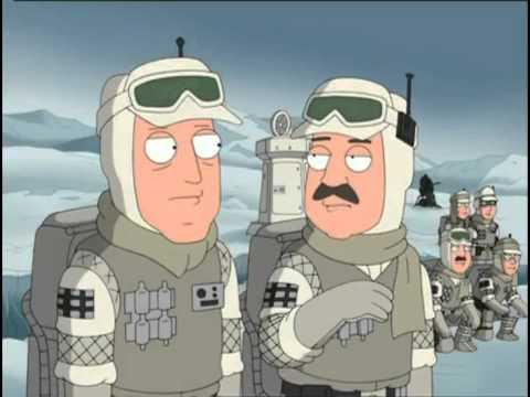 Family Guy Star Wars Funny Bits video