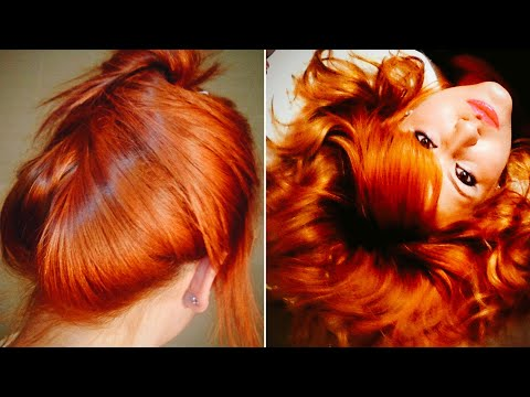 Ruivo Acobreado Intenso - Pintando o cabelo em Casa