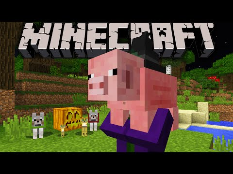 Minecraft 1.8.1 Pre Release: Pet Teleport Bedrock Log Escape Exploit Angry Wither Lightning Bug