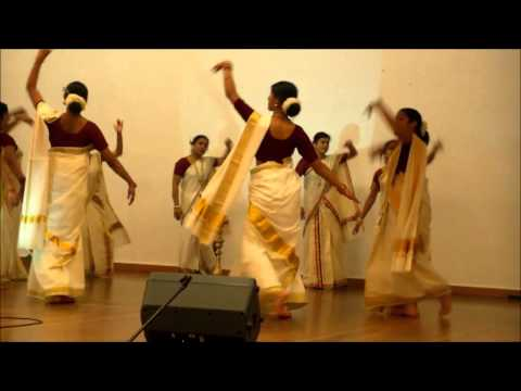 Thiruvathira Dance - Onam 2014 - Jaya Jaya Naga Keerthana. video