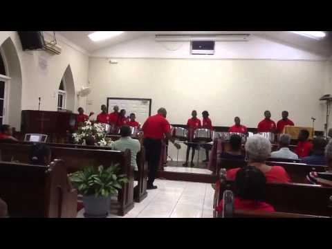 Salem Baptist Church Jamaica Steel Pan Ensemble.   Hear Oh Lord