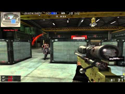 BlackShot - X1 Only Sniper - AWP Mata Tuto