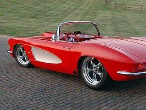 1962 Chevy Corvette Convertible Resto Mod