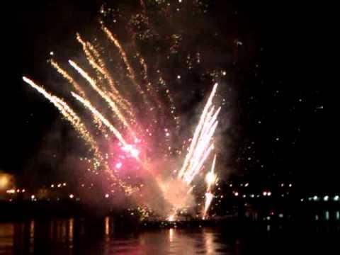 Slovakia, Bratislava, Firework 2012 - Szlovákia, Pozsony, újévi tüzijáték