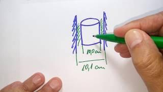 Um pistão de peso 4 N cai dentro de um cilindro com uma velocidade constante de 2 m/s.