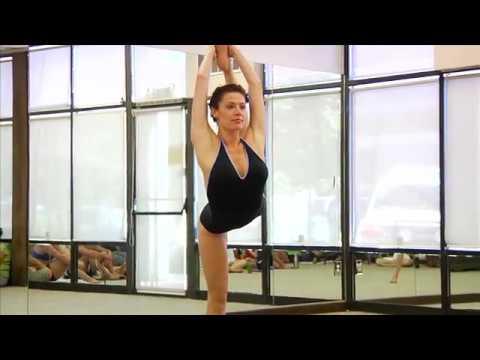 Bikram Yoga Demonstration - Brandy Lyn Winfield