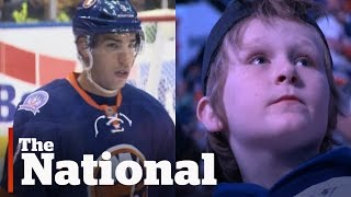 Travis Hamonic Helps Boy Cope With Father's Death