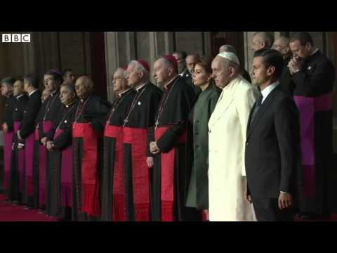 Pope; Bishops must help rid Mexico of its troubles