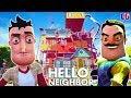 НОВЫЙ ДОМ и НОВЫЕ ТАЙНЫ ПРИВЕТ СОСЕД Мультяшная хоррор игра Hello Neighbor АКТ 3 Начало mp3