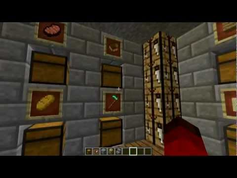 #Minecraft 1.4: Cool Chest Room Showcase & TUTORIAL