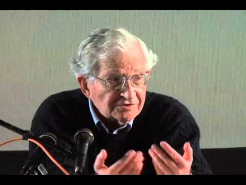 Noam Chomsky: Things Are UglyDo Something About It