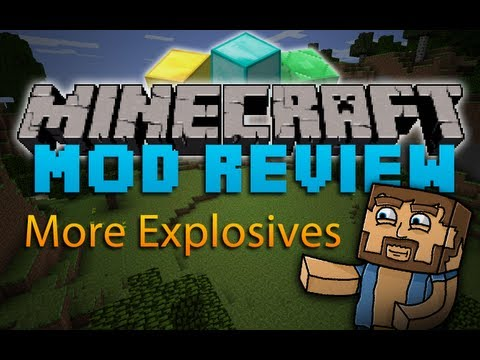 Minecraft Mod Review: More Explosives 1.2.5 (Updated)