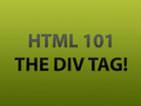 Div tag is used in html 2011 - Div tag in html ...