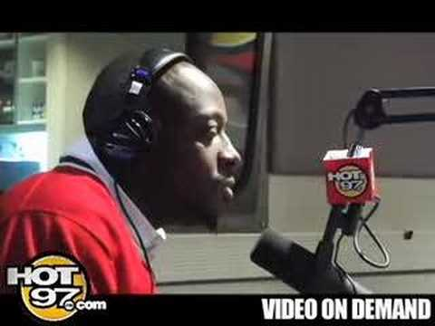 HOT 97- Angie Martinez interviews Wyclef