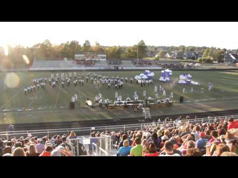 2012-2013 Hernando High School Marching Band, Sight of Sound Festival, October 20, 2012 (Part 2)