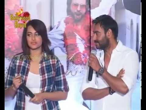 Sonakshi Sinha,Ajay Devgn,Himesh & Prabhudeva Launch Song 'Keeda' of 'Action Jackson'  2