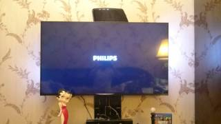 Philips 49 PUS 7909 continuously restarts