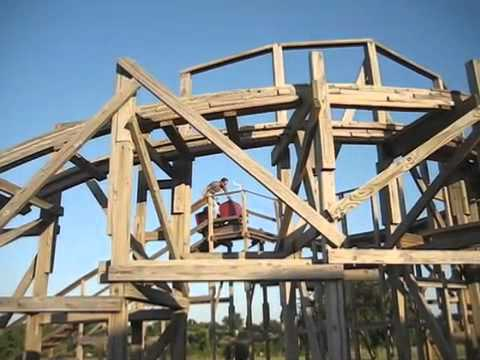 chris buck backyard roller coaster popular mechanics youtube