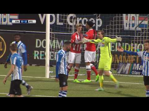 Samenvatting van de wedstrijd FC Eindhoven - Jong PSV