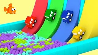 Cartoon Cars - BALL PARTY! - Cartoons for kids - Childrens animation