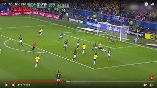 Tin Thể Thao 24h Hôm Nay (19h- 1/9): Vòng Loại World Cup 2018 - Brazil Thăng Hoa, Argentina Hòa Nhạt