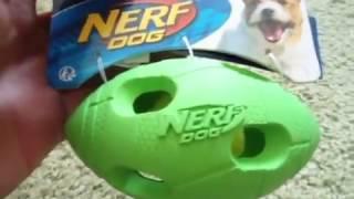 Prezentacja produktu-Piłka Football Amerykański-NERF DOG