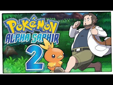 Let's Play PokÉmon Alpha Saphir Part 2: Begeisterung Für Pokédex-navi-funktion video