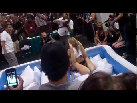 Exxxotica Chicago 2012: Alexis Texas Wrestles Tanya Tate video