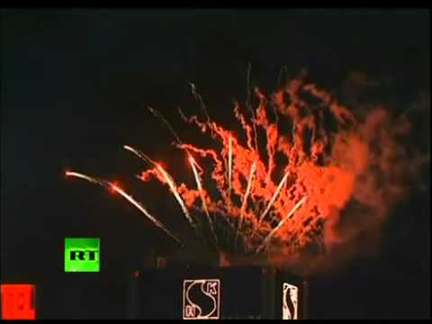 15 years of Chinese Rule: HONG KONG's SAR amazing fireworks display over Victoria Harbour