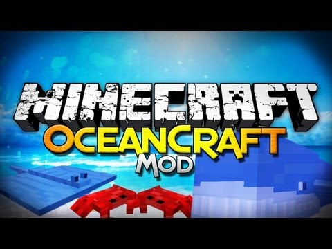 Minecraft Mod Showcase: OceanCraft - Mobs, Armor, and More!
