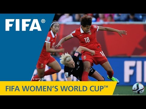 HIGHLIGHTS: China PR v. New Zealand - FIFA Women's World Cup 2015