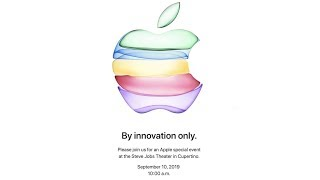 Apple Announces September 10 Event: New iPhones!