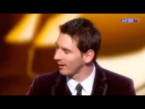 Lionel Messi ve ballon d'or konuşması [Kemal Sunal Dublaj]