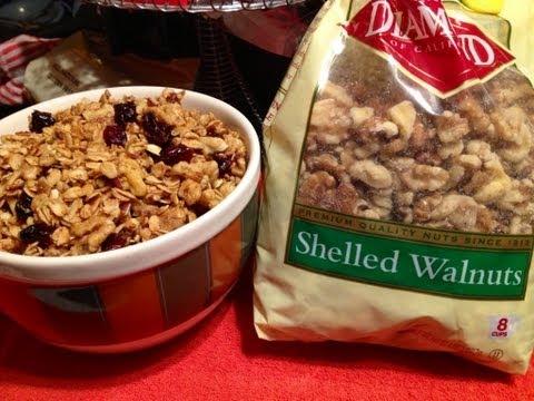 Top 50 Healthiest Foods - Walnuts & Granola