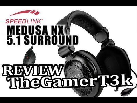Speedlink Medusa NX 5.1 Gaming Headset Review   SOOOO LIGHT AND COMFY