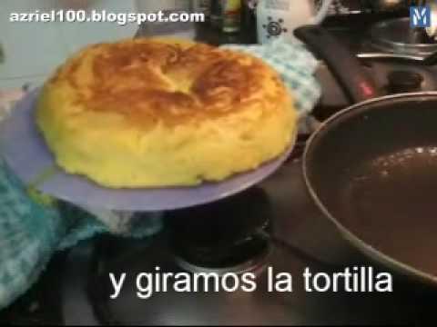 Receta: Tortilla de patatas