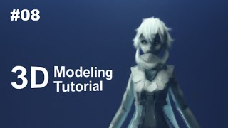 [Part 8/ 40] Anime Character 3D Modeling Tutorial II - Eyes and Nose