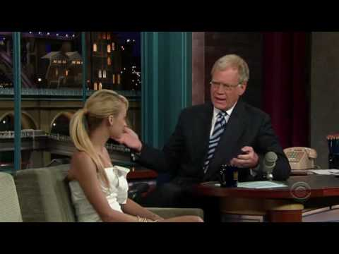 Nicole Richie on Late Show w/ David Letterman (6.06.07)