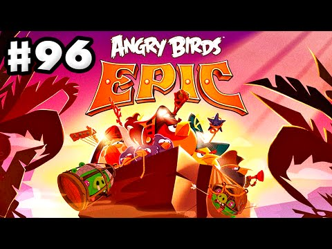 Angry Birds Epic - Gameplay Walkthrough Part 96 - Mocking Canyon Cleared! (iOS, Android)