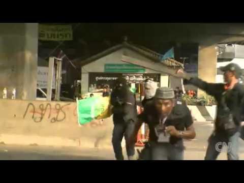 CNN producer's harrowing account of Thai election violence