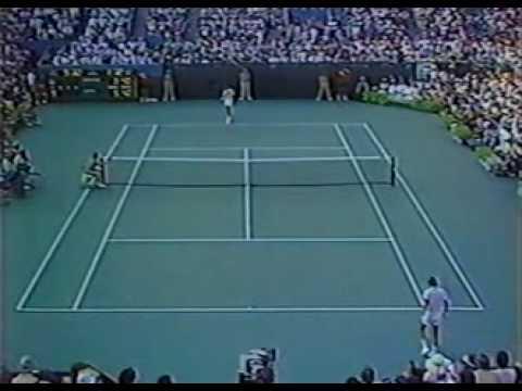 レンドル - コナーズ 全米オープン 1983 決勝戦(ファイナル) . Set 2 pt 5