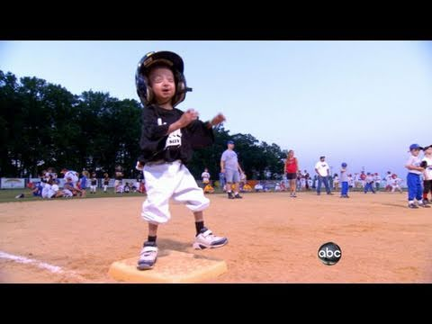 Pint-Sized Boy's Big Baseball Dream