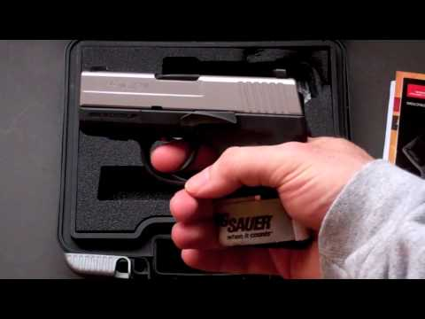 New Toy Time!!!: SIG Sauer P290 (two tone)