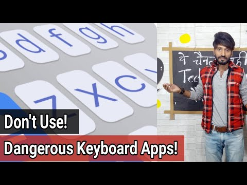Dangerous Third Party Keyboard Apps! | A.I. Type | Don't Use!