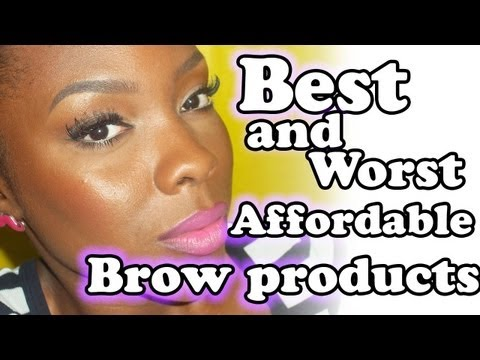 Best and worst drugstore brow products!