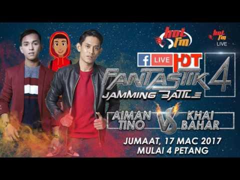 Khai Bahar vs Aiman Tino - Jamming battle LIVE Hot FM