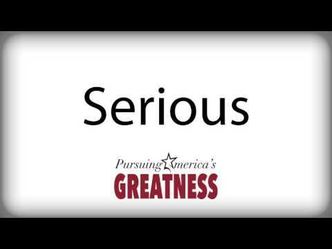 Serious - Radio Ad