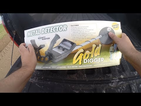 Best Metal Detector for Beginners - Bounty Hunter Gold Digger Review. Tutorial and How To